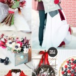 Red winter wedding ideas,red wedding colour palette