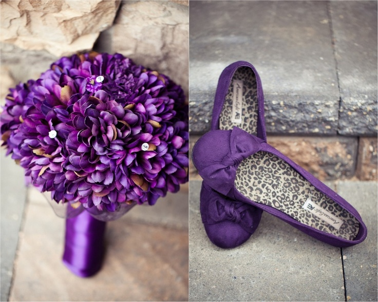 purple bouquet, purple wedding,purple wedding shoes