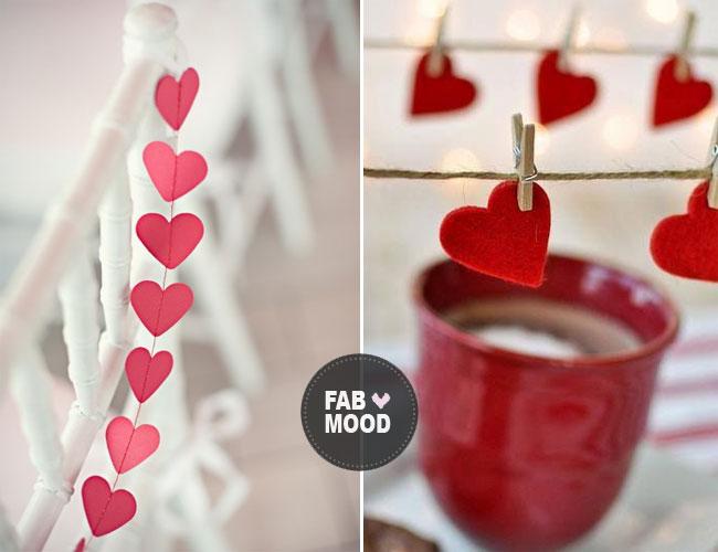 Red Heart Wedding Decoration Ideas Valentine
