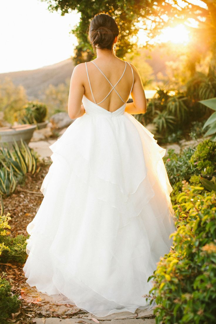 JLM Couture open back wedding dresses - see more https://www.fabmood.com/open-back-wedding-dresses/