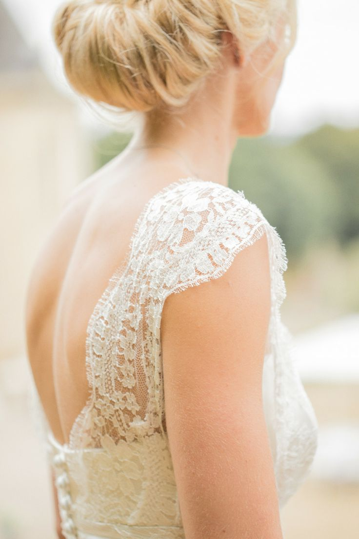 Wedding Gown from The Bespoke Wardrobe - see more https://www.fabmood.com/open-back-wedding-dresses/