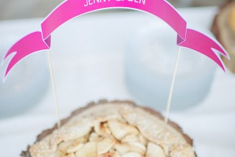 Apple Pie wedding dessert