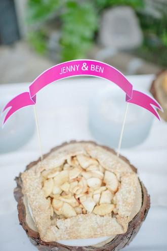 Apple Pie wedding dessert
