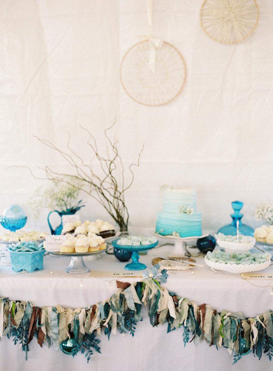 Wedding Dessert Table Ideas For Blue Wedding Theme 1 Fab Mood