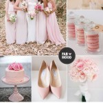 Pink wedding color schemes