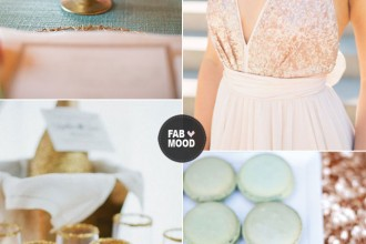 read more gold sequins,mint and pink wedding,mint gold pink wedding, http://www.fabmood.com/mint-gold-pink-wedding/