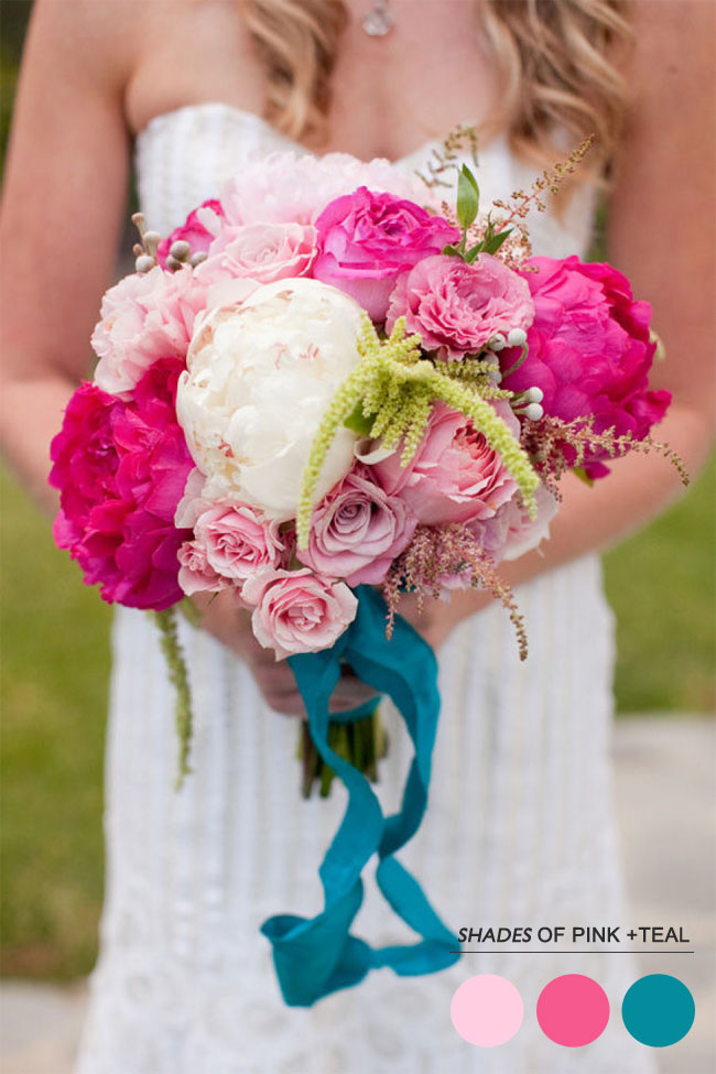 Read more Mint peach pink wedding colors palette, https://www.fabmood.com/mint-peach-pink-wedding-colors-palette/  teal and pink wedding colors