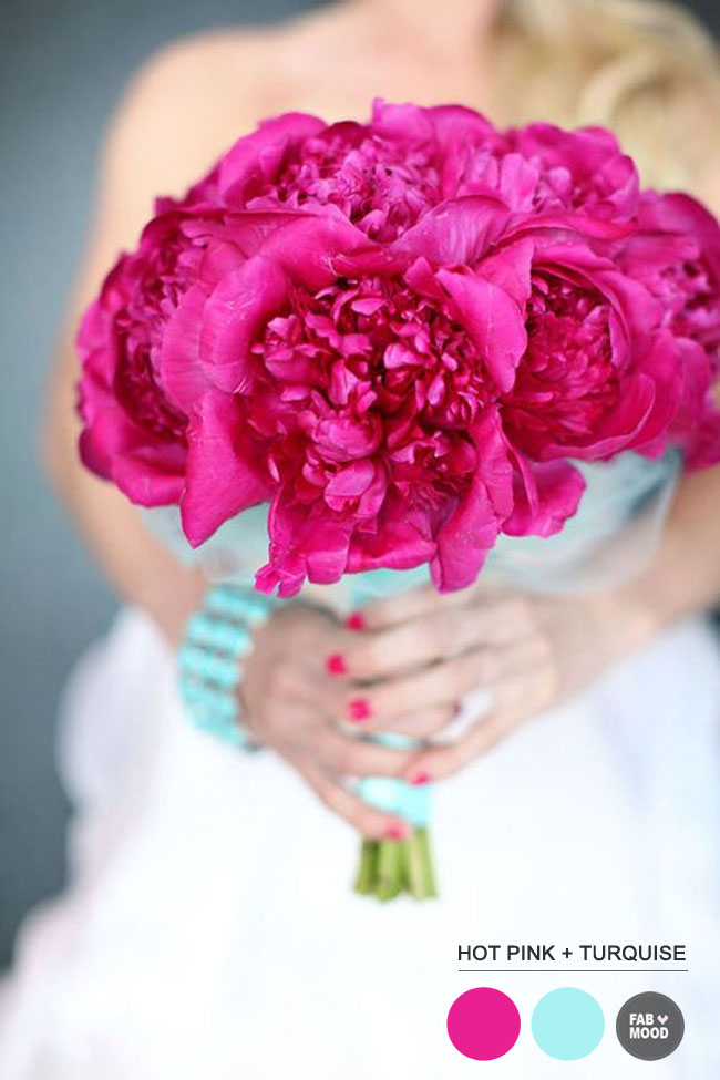 Read more Turquoise Pink Wedding Colors https://www.fabmood.com/turquoise-pink-wedding-colors/ turquoise pink wedding theme,turquoise pink wedding decorations,turquoise pink wedding colors palette,hot pink wedding