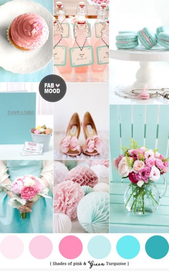 Read more Turquoise Pink Wedding Colors Palette https://www.fabmood.com/turquoise-pink-wedding-colors/ turquoise pink wedding theme,turquoise pink wedding decorations,turquoise pink wedding colors palette,hot pink wedding
