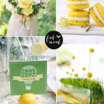 Yellow Green Wedding Colors
