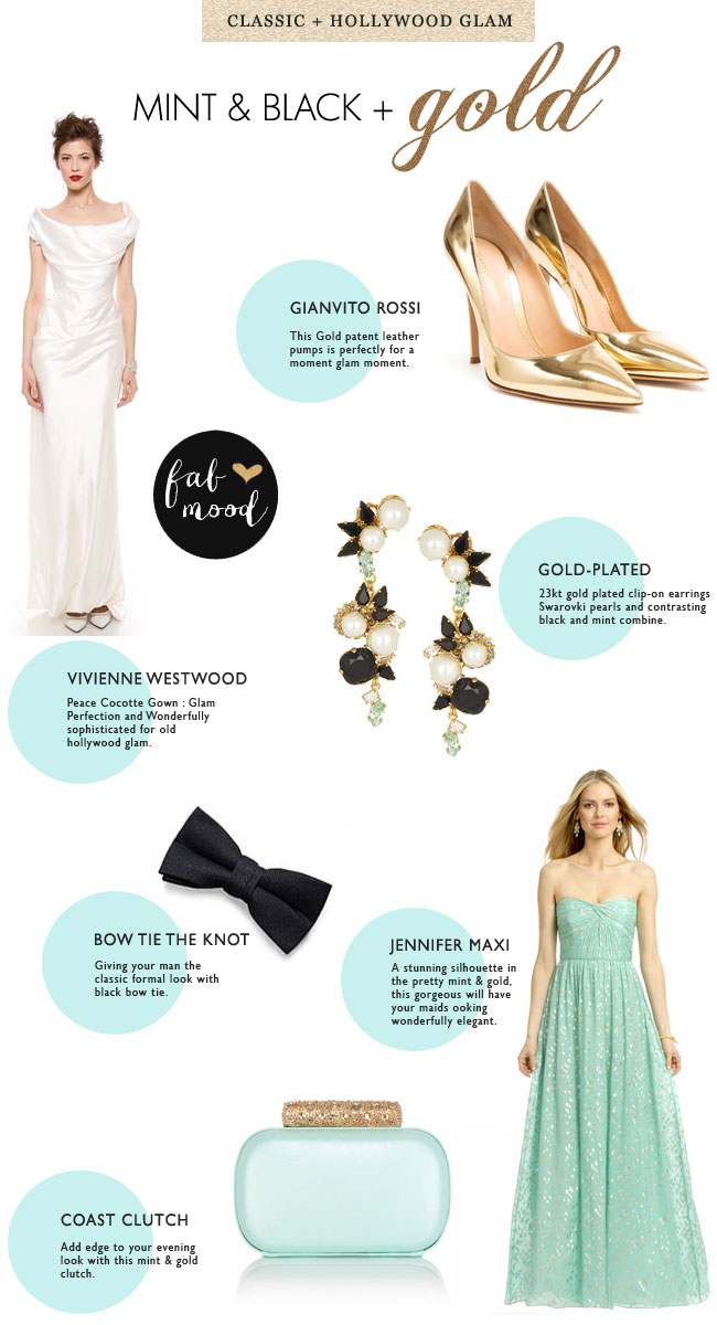 Mint black and gold wedding read more https://www.fabmood.com/mint-black-wedding/ mint black wedding,mint green and black wedding theme,mint black and white wedding,pantone palette,wedding colour palette,wedidng colors palette