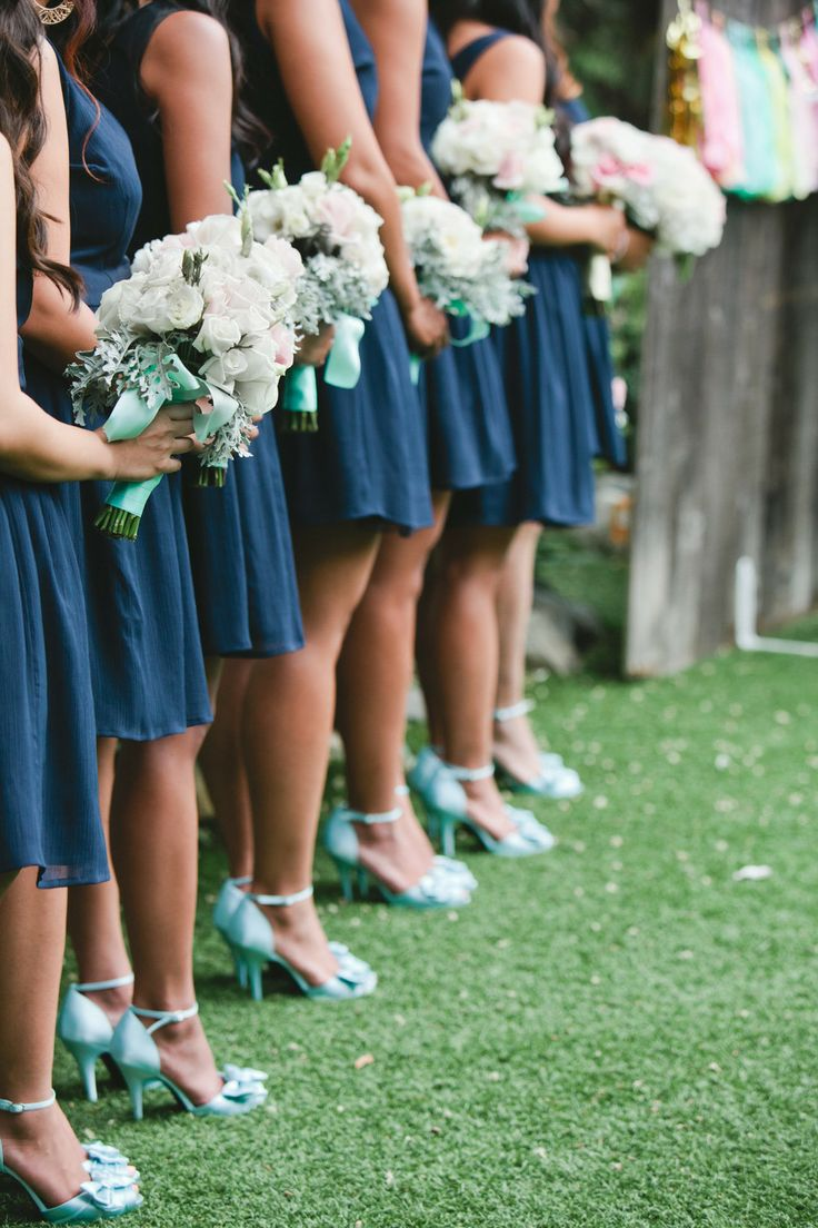 Shades of blue + mint + teal see more https://www.fabmood.com/navy-blue-and-mint-wedding-teal wedding board teal wedding,dazzling blue, royal blue mint wedding palette ,navy blue mint bridesmaids