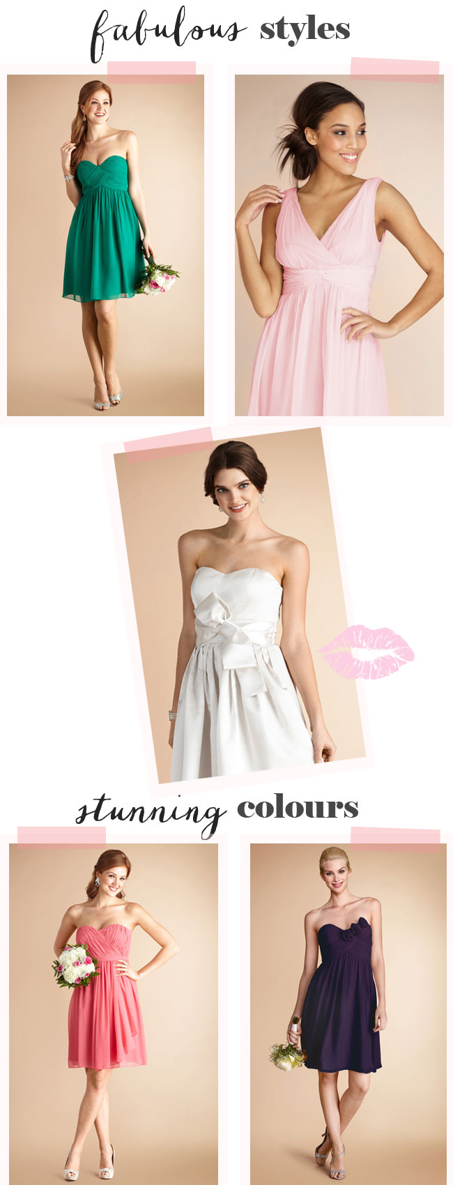 Short Bridesmaid Dresses 2014 from Bridesmaiddressesbuy