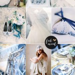 Linen & Blue Toile Wedding