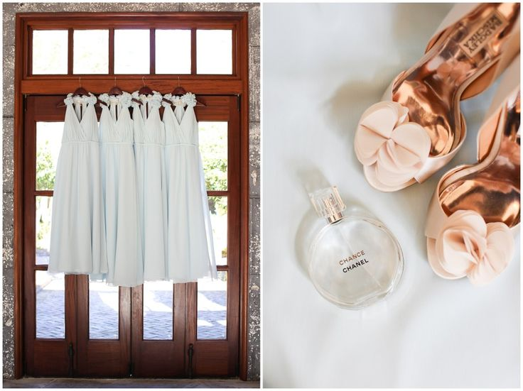 pale blue bridesmaid dresses - see more https://www.fabmood.com/light-blue-gold-wedding/
