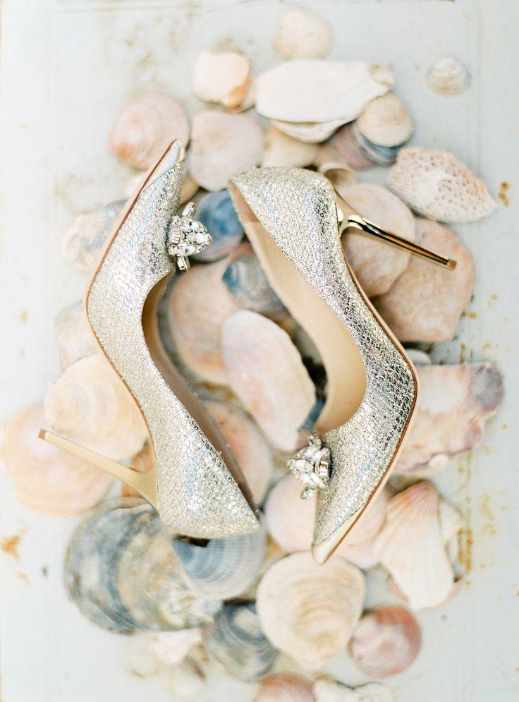 #JimmyChoo #wedding shoes | Branco Prata Photography | pretty wedding shoes - fabmood.com: