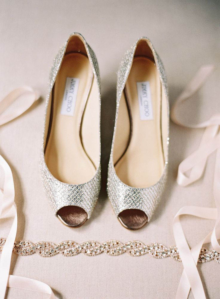 Jessica Burke Photography | Gorgeous wedding shoes - jimmy choo wedding shoes | fabmood.com