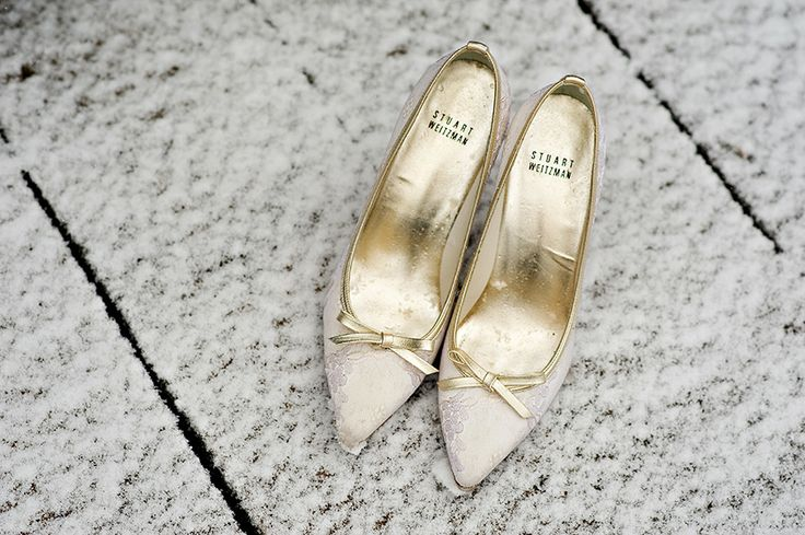 Stuart Weitzman Shoes ,Orange Girl Photographs | Gorgeous gold wedding shoes - fabmood.com