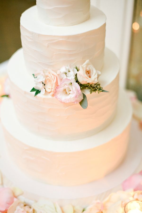 Simple Wedding Cakes With Buttercream Frosting