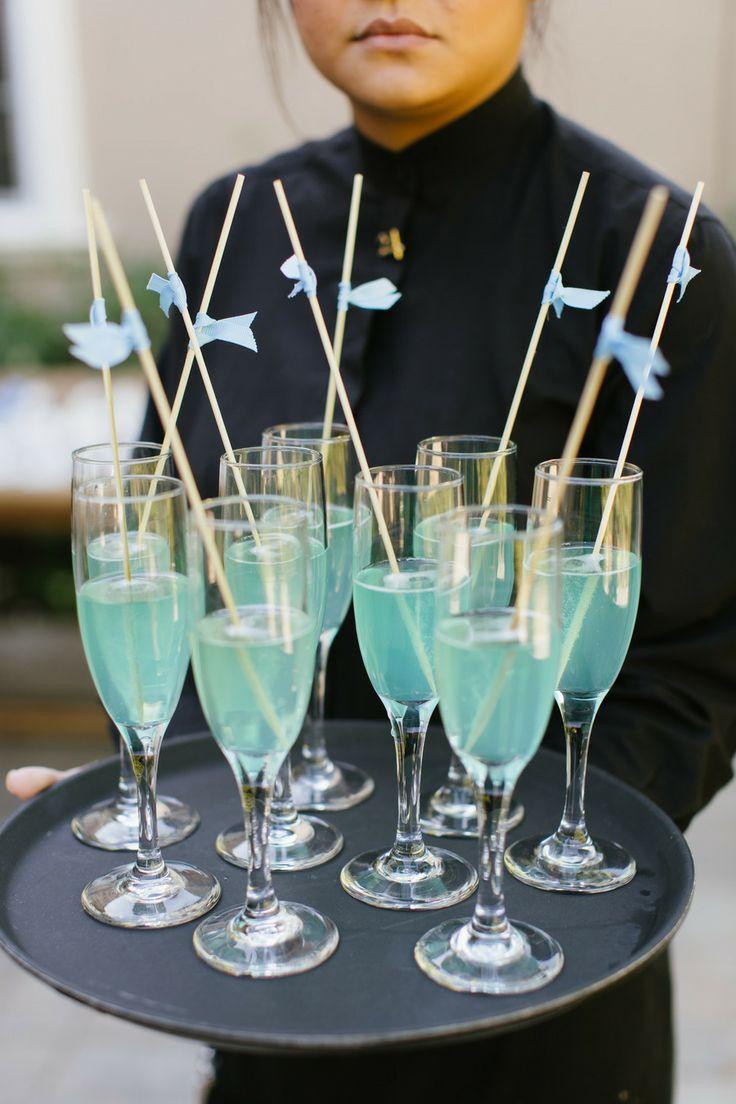 Creative ideas Something blue wedding