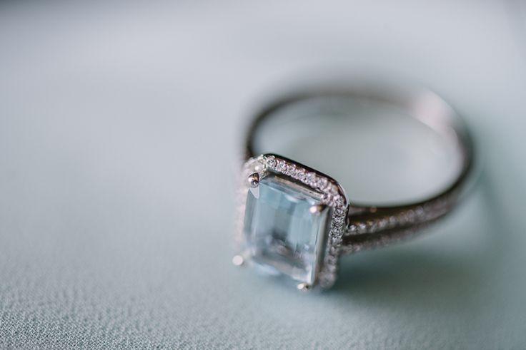 something blue wedding ring