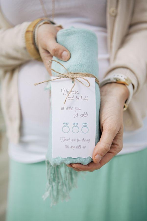 something blue wedding favors
