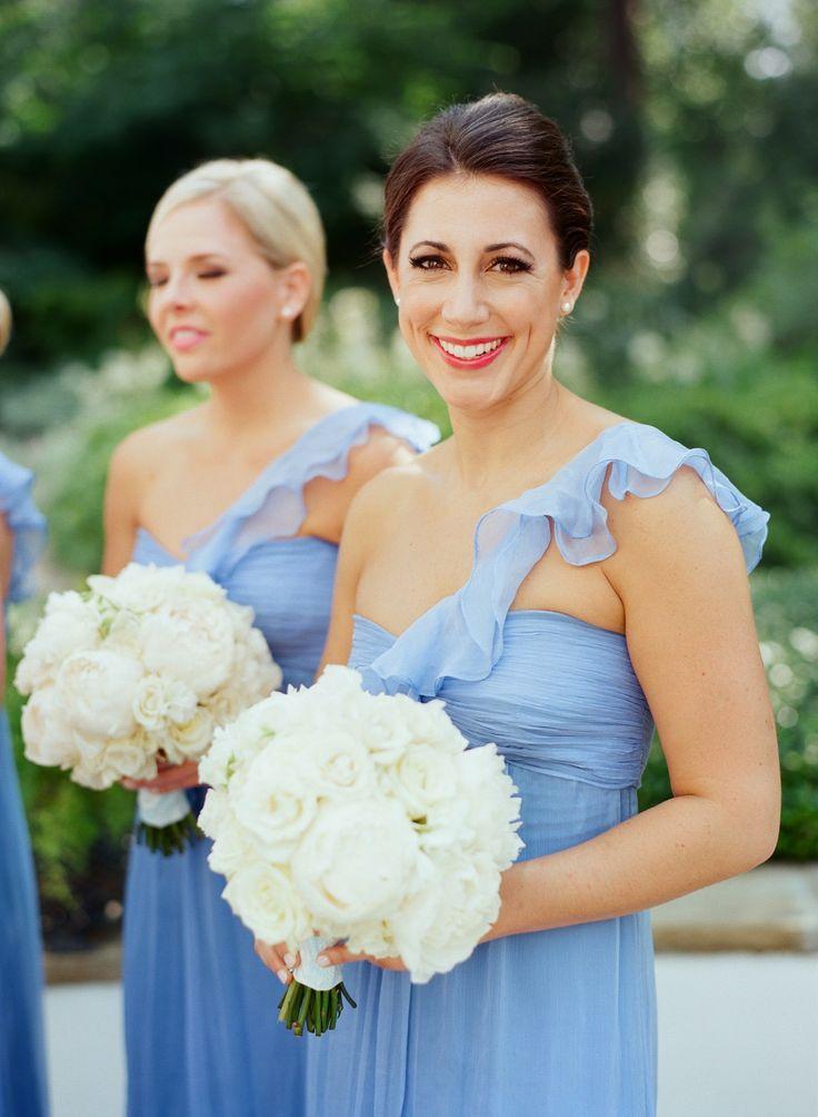 something blue bridesmaids dresses