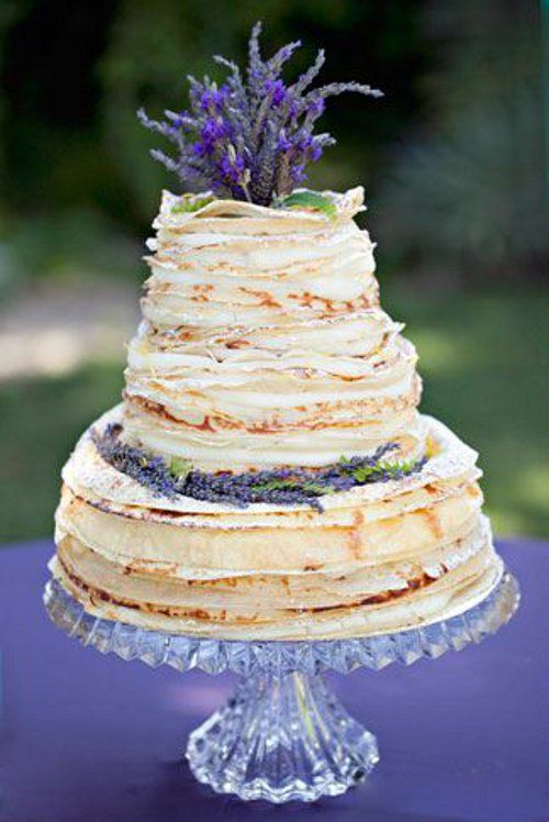 Lavender Wedding Cakes Lemon Cake