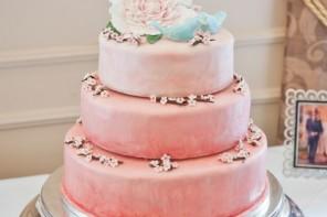16 Peach wedding cakes Ideas