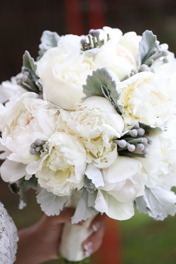 Peony Wedding Bouquetwinter Bouquet