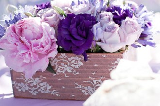 Shades of purple wedding centerpieces,wedding centerpieces,purple wedding centerpieces