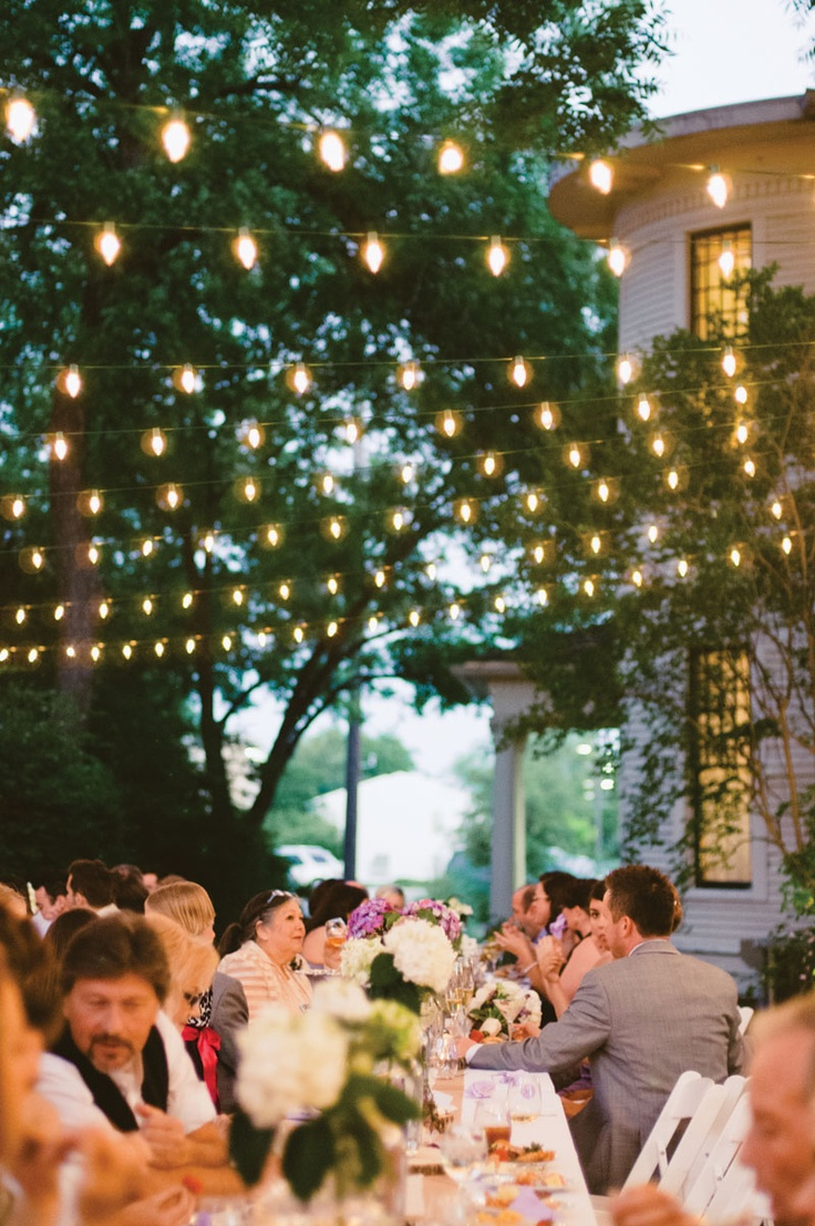 Wedding light decorations