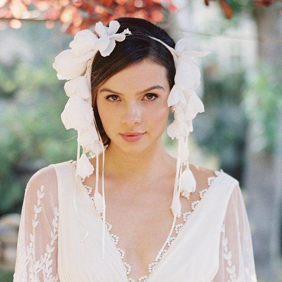 unique bridal headpieces