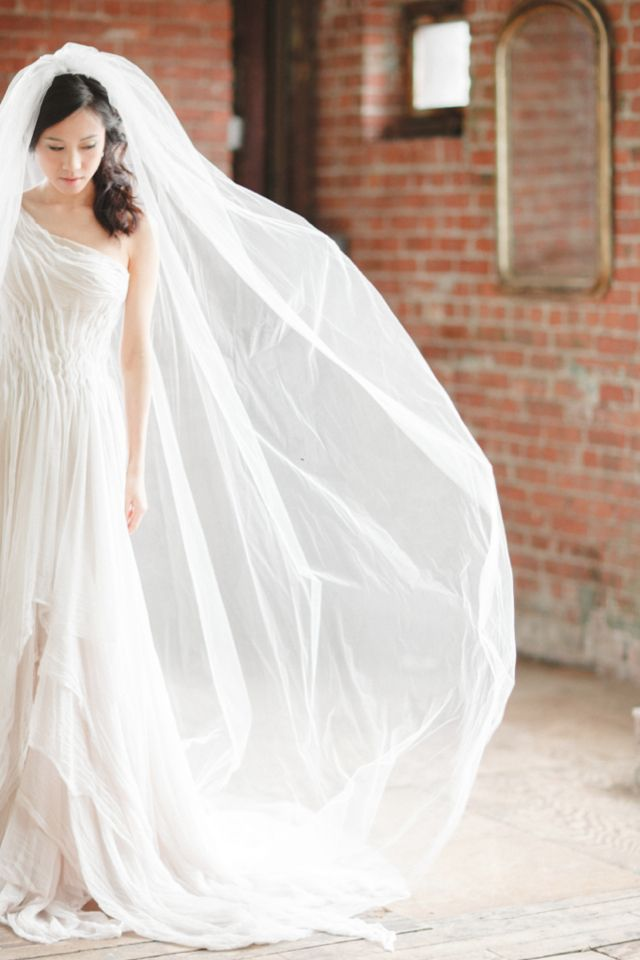 Bridal Veil For Church Weding