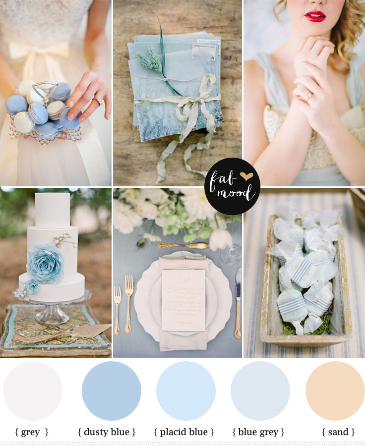 Blue Color Palette Light Blue Wedding Colors