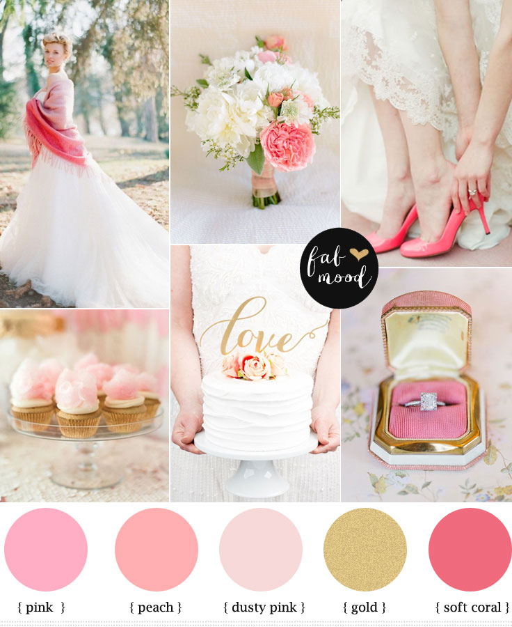Lace Blush Pink And Gold Color: Blush Pink Wedding Theme { 36 Pretty Blush Pink Color