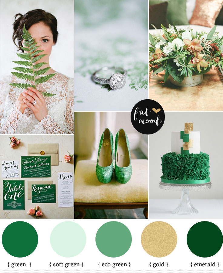 Emerald And Gold Wedding 1 Fab Mood Wedding Colours Wedding