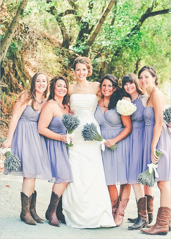 bridesmaids,lavender bridesm