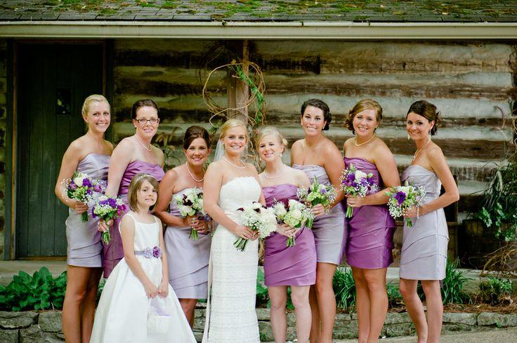 bridesmaids,lavender bridesmaids,lavender bridesmaids dresses,lavender and purple bridesmaids