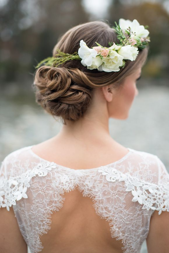 Bridal Updo Flower : Wedding hairstyles updos with flowers