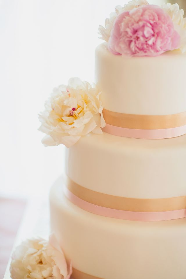blue pink and gold wedding cake pink and gold wedding cakes 11999