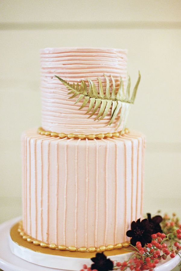 pink and gold wedding cake 1 - Fab Mood | Wedding Colours, Wedding ...