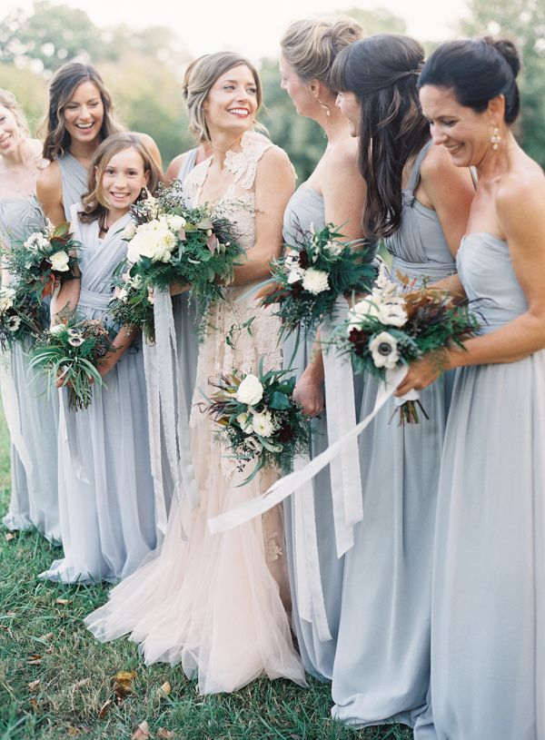 Powder Blue Bridesmaids
