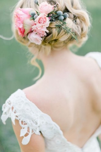 updo wedding hairstyles for long hair
