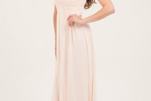 Blush Embellished Maxi Dress from Little Mistress,blush bridesmaids