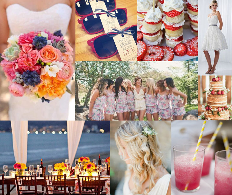 summer wedidng palette,summer wedding ideas,Cotswold Frock Shop mood board,Summer Wedding Style,summer wedding mood board