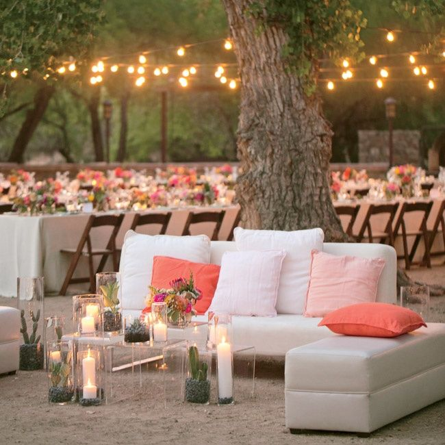 Mint Peach And Coral Wedding