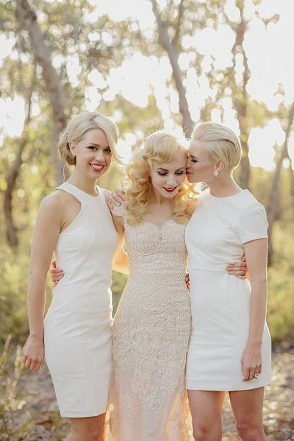 white bridesmaid dresses ideas,white bridesmaids dresses uk,white bridesmaid dresses trend,white bridesmaid dresses with sleeves,bridesmaids dresses long,Donna Morgan, Spring 2014 White bridesmaid dresses ideas,bridesmaids dresses ideas