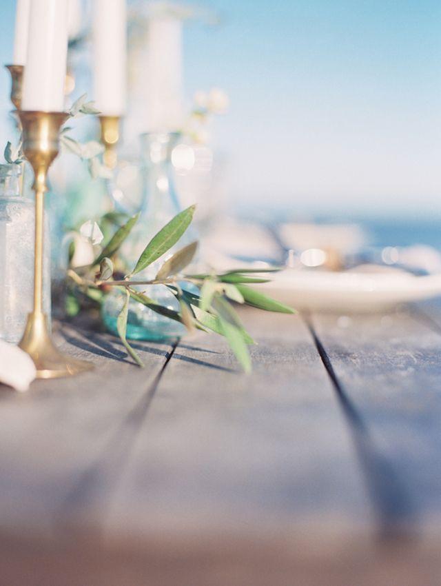 Beach Wedding Ideasdusty Blue Beach Wedding