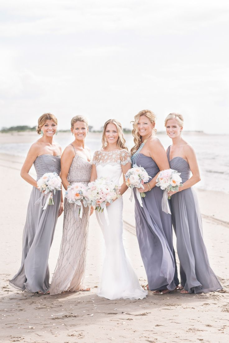 Beach bridesmaids bridesmaids beach wedding for Best wedding dresses for beach weddings